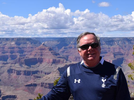 Photo of Robert Riley at Grand Canyon