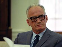 Headshot of Barry Goldwater